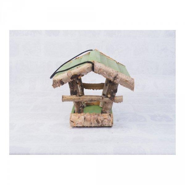 Karmnik dla ptaków (Brzoza/Kolor/Średni) - sklep z wiklina - zdjęcie 3