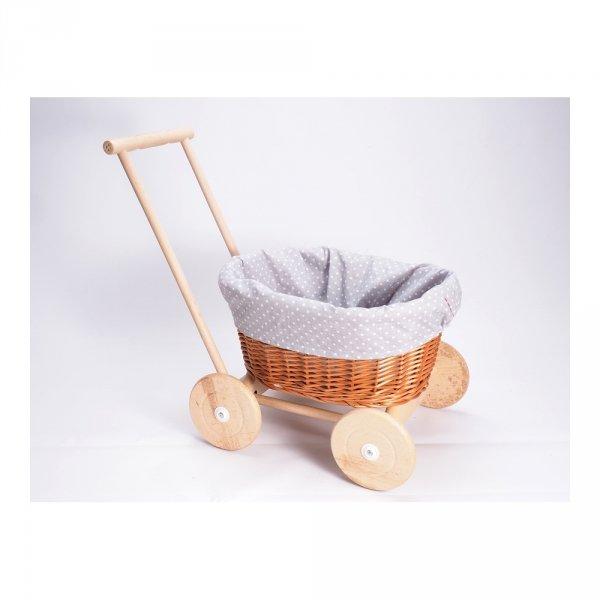 Wózek na Zabawki (Zakupy) - Sklep z wiklina - zdjęcie 2