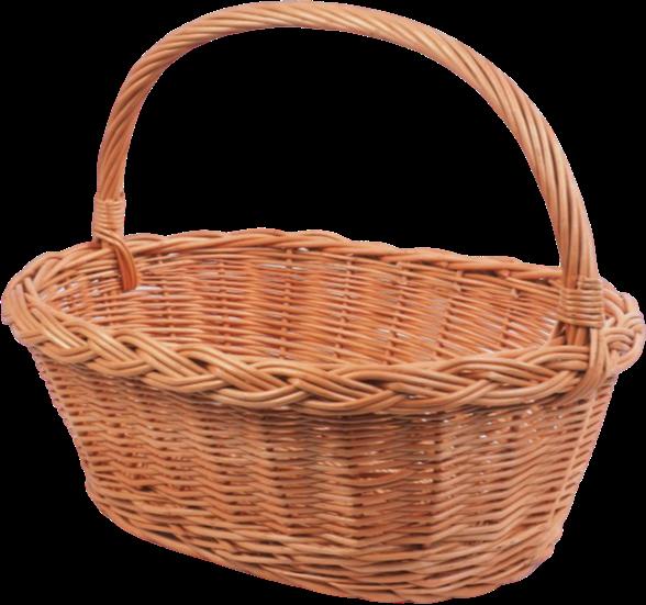 Kosz na zakupy (gęsiarka/30cm) - sklep z wiklina - zdjęcie