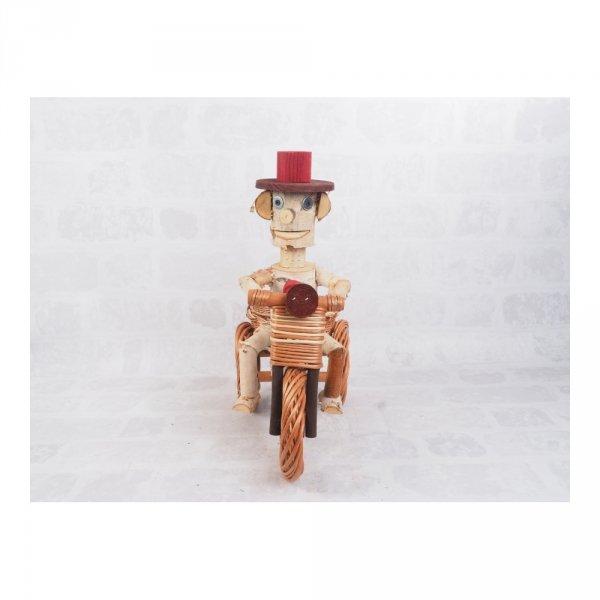 Osłonka na doniczkę - dekoracja (Chłopek/Duży) - sklep z wiklina - zdjęcie 3