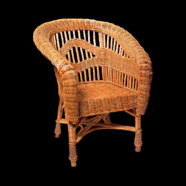 Fotel (Królewski) - sklep  z wiklina - zdjęcie