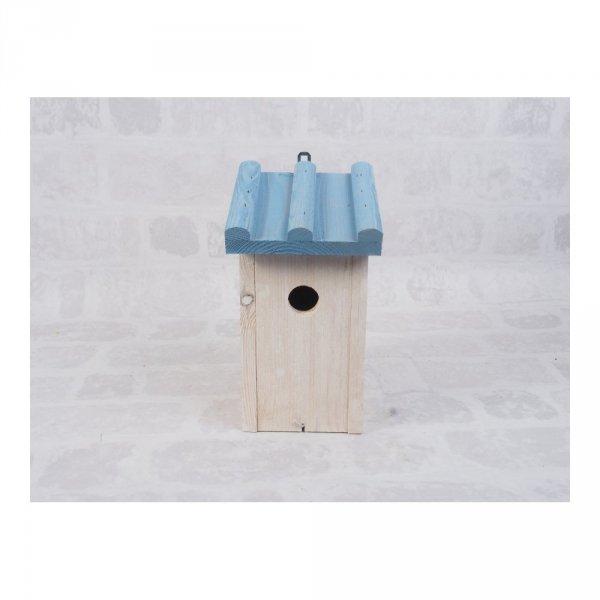 Budka lęgowa dla ptaków (Drewno/Kolor) - sklep z wiklina - zdjęcie 1