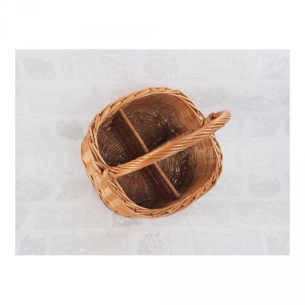 Kosz piknikowy  (Kwadrat/30cm) - sklep z wiklina - zdjęcie 1