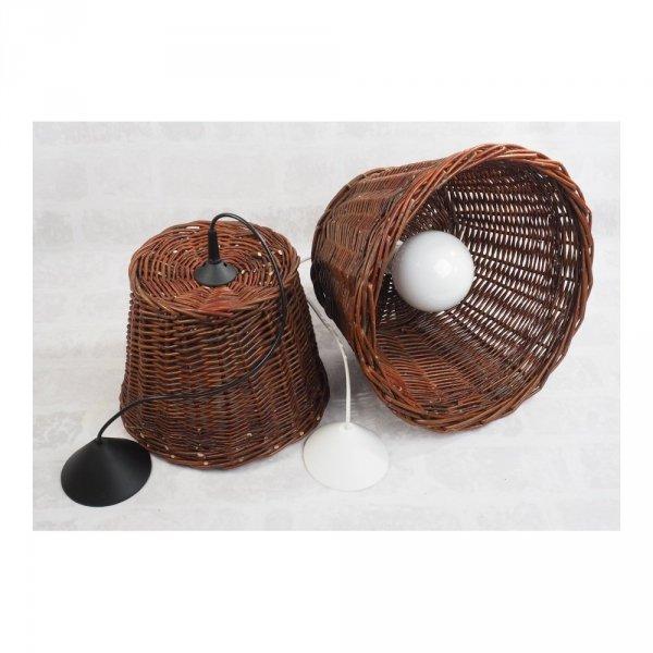 Żyrandol (30cm) - sklep z wiklina - zdjęcie 2