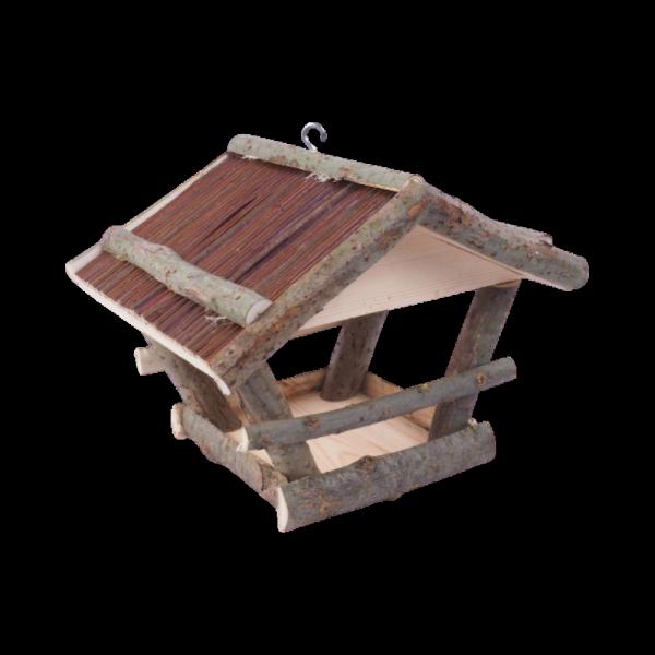 Karmnik dla ptaków (Patyczki/Średni)- sklep z wiklina - zdjęcie