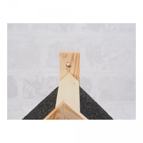 Budka lęgowa dla ptaków (Papa/czarna) - sklep z wiklina - zdjęcie 3