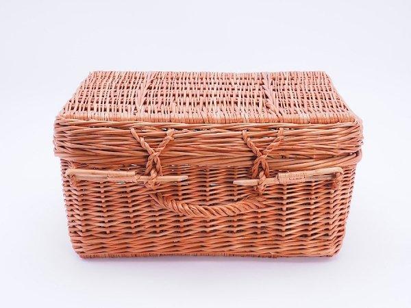 Kosz - kufer piknikowy 48cm - Sklep z wiklina - zdjęcie