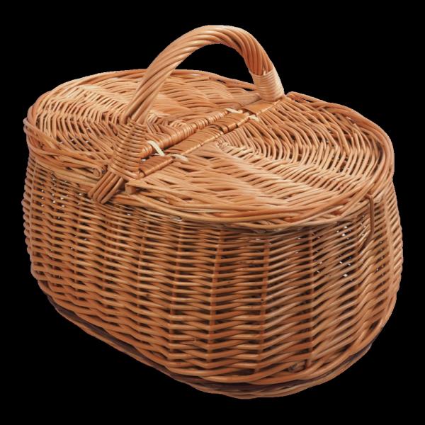 Kosz piknikowy (wzór 6) - sklep z wiklina - zdjęcie