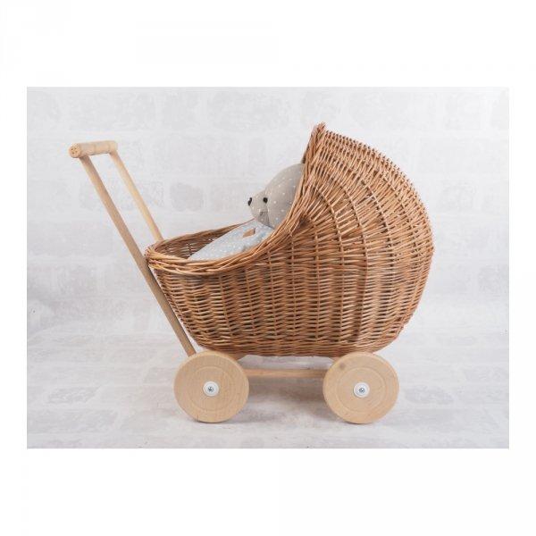 Wózek dla lalek (Warkocz/55cm) - sklep z wiklina - zdjęcie 1