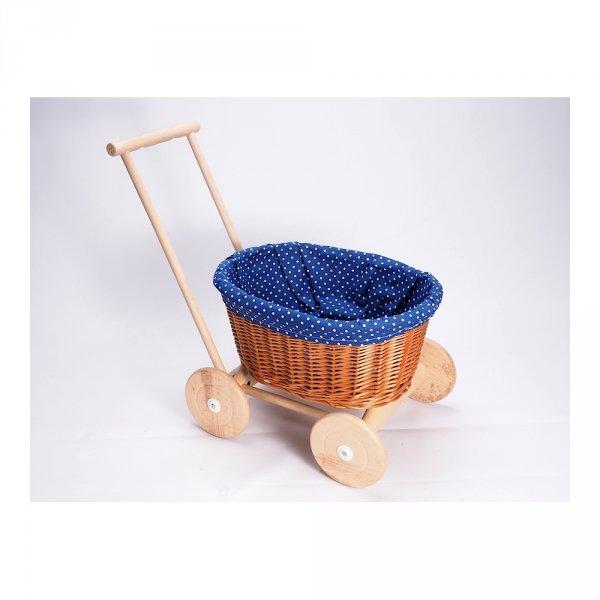 Wózek na Zabawki (Zakupy) - Sklep z wiklina - zdjęcie