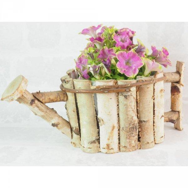 Donica brzozowa (konewka) - sklep z wiklina - zdjęcie - 1