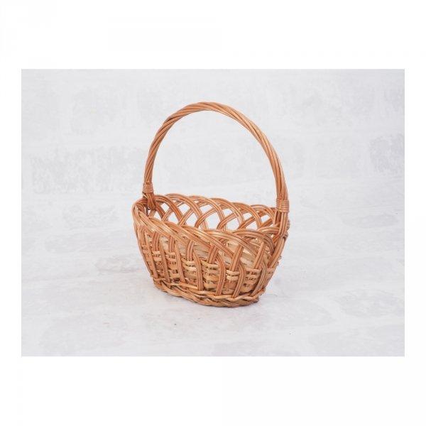 Koszyczek Wielkanocny (ażurek) - sklep z wiklina - zdjęcie 1