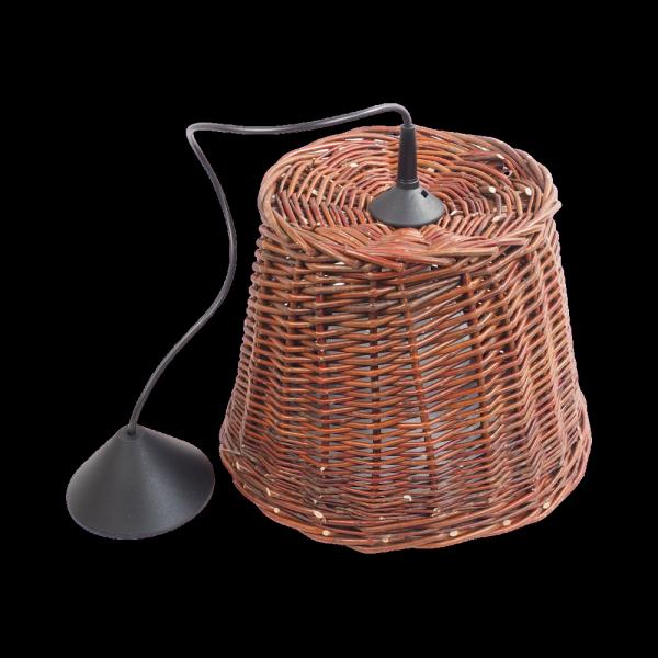 Żyrandol (30cm) - sklep z wiklina - zdjęcie