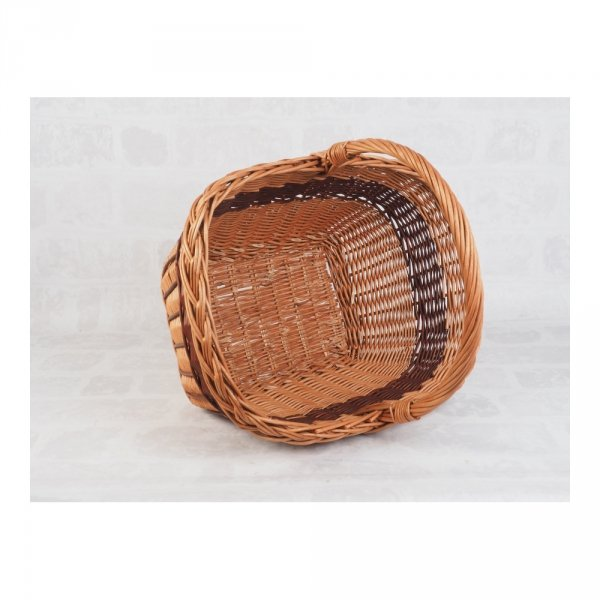 Kosz na zakupy Prostokąt (Zdobiony) Sklep z wiklina - zdjęcie 3