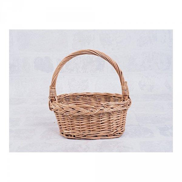 Koszyczek Wielkanocny  (Owalny/28 cm) - Sklep z wiklina - zdjęcie 1