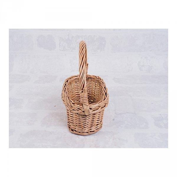 Koszyczek Wielkanocny Mini (Owalny) - Sklep z wiklina - zdjęcie 2