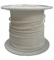 Kabel jednożyłowy Teflon 0,82mm2 biały