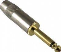 Wtyk Jack 6,3mm Mono GOLD G&H Industries