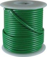Kabel jednożyłowy zielony 0,35mm2 Hook-up