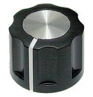 Gałka X5-16 czarna (push-on)