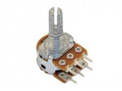 2x500k/B liniowy stereo PCB standard