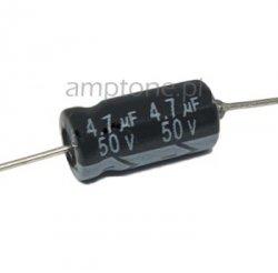 Kondensator 4,7uF 50V osiowy