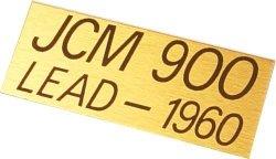 Marshall JCM900 plate