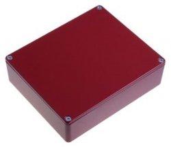 Obudowa Hammond 1590BBRD czerwona