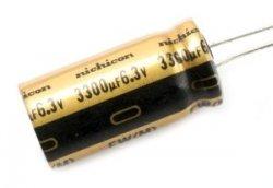 Kondensator Nichicon FW 33uF 35V