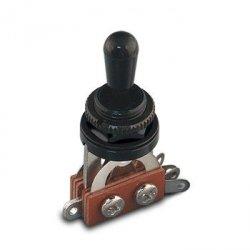 Przełącznik styl Les Paul 3 pozycje czarny