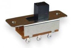 Przełącznik suwakowy 2 pozycje DPDT (Fender)