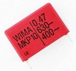 Kondensator MKP10 100nF 630V Wima