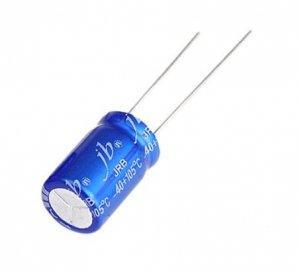 JB capacitor 100uF 25V JRB