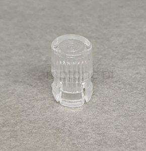 Oprawka LED soczewka 3mm clear mat wypukła