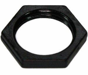 Nakrętka M12 czarna