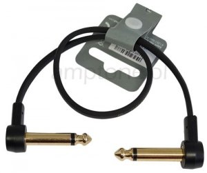 Kabel do łączenia efektów, patch AH, Gold, 30cm