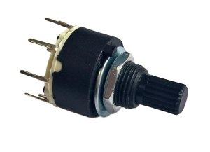 Przełącznik obrotowy 2 pozycje 1 obw. 16mm