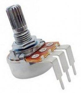 Alpha 100k/B liniowy PCB-V (6mm)