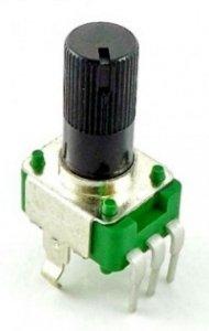 Alpha 9mm plastic - 5k/A logarytmiczny