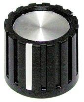 Gałka AZ czarna T18 (push-on)