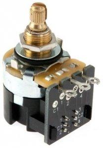 CTS 250k/A logarytmiczny push-pull 6mm
