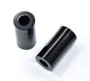 Dystans plastikowy czarny 12mm