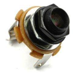 Gniazdo Jack 6,3mm mono MJ2 czarne