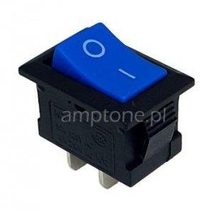 Przełącznik rocker MRS101 niebieski SPST