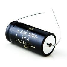 Kondensator 10uF 450V F&T osiowy