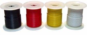 Kabel jednożyłowy żółty 0,35mm2 RL