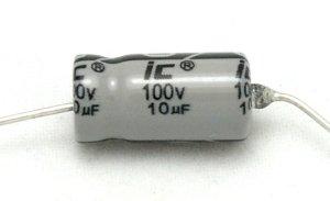 Kondensator 2,2uF 100V osiowy Illinois