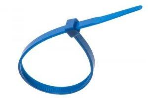 Opaska kablowa niebieska 3,6mm x 140mm (10szt)