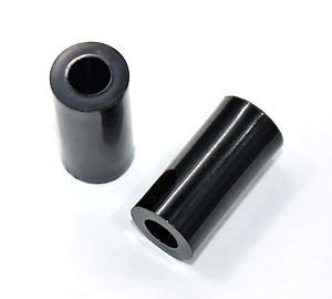 Dystans plastikowy czarny 5mm