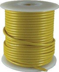 Kabel jednożyłowy Hook-up żółty 0,35mm2 solid
